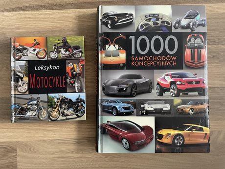 1000 samochodów koncepcyjnych i leksykon motocykle