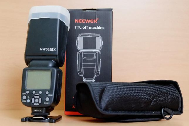 Flash Neewer 565 TTL - versão Canon e versão Nikon