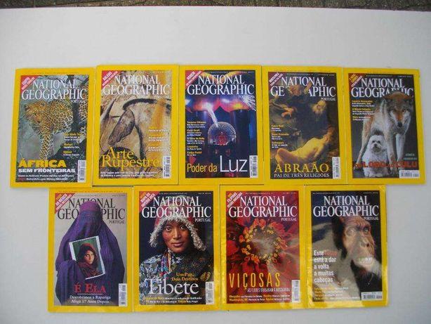 National Geographic: 9 revistas Portugal