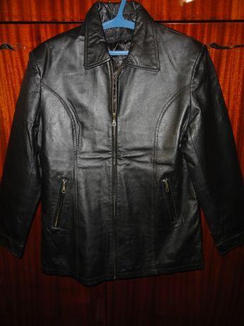 Эксклюзивная кожаная куртка (р.XXL Leather натуральная кожа)