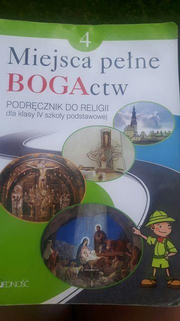 Podręcznik do religii klasa 4 Miejsca Pełne Bogactw