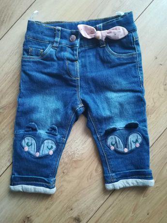 Spodnie ocieplane Cool Club roz. 68