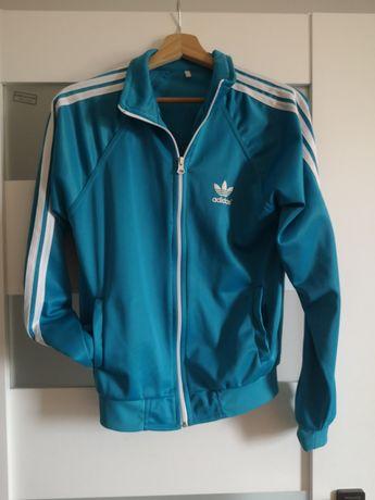 Bluza Adidas błękit S