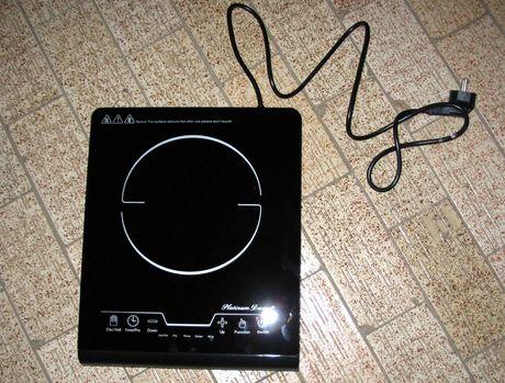 Kuchenka indukcyjna jednopalnikowa, płyta PD-10007