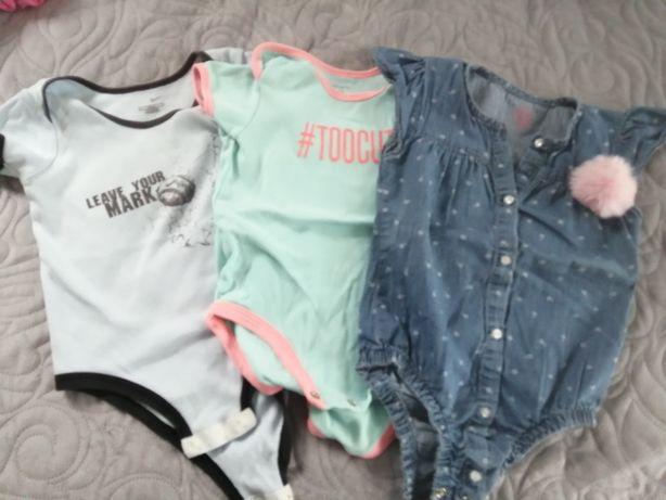 Zestaw body, Nike, Carter's, Cool Club