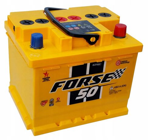 Akumulator WESTA Forse 50Ah 480A Jasło