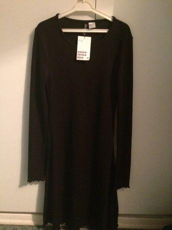 Sukienka plisowana h&m nowa basic xs