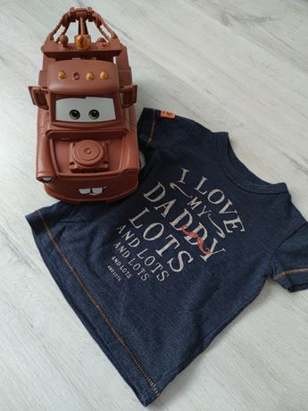 Koszulka Next 3-6 dla chłopca t-shirt
