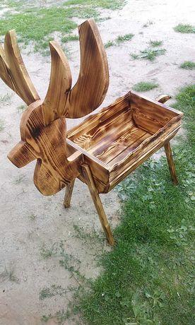Sprzedam drewniane doniczki