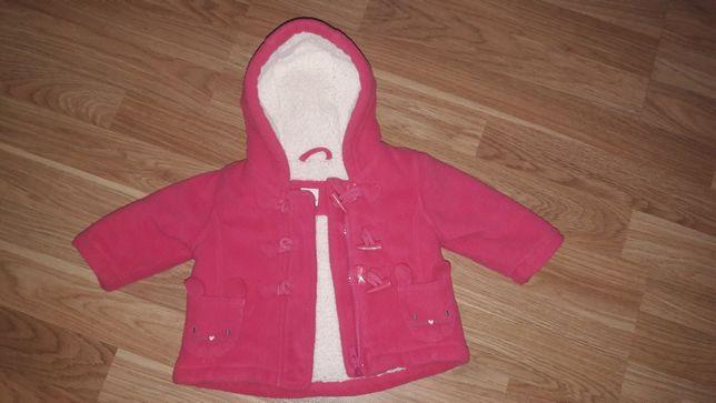 Тёплое пальтишко куртка на принцессу