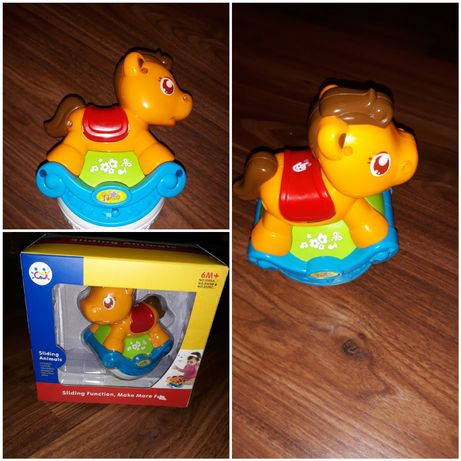 Игрушка Huile Toys Музыкальная лошадка