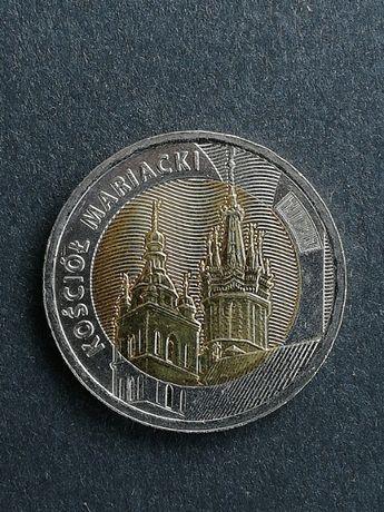 """5 złotych """" kościół mariacki """""""