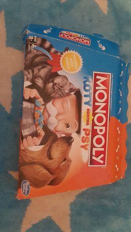 Monopoly koty i psy junior