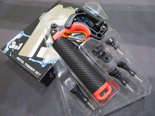 Kit Monopod Flutuante Action Cams - Gopro, SJCAM, Xiaomi, Rollei...