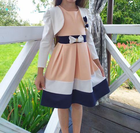 Платье на девочку 6-7 лет р 116-122