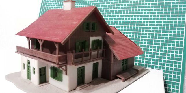 domek h0 z demontażu firmy Vollmer_kolejka_kolejki