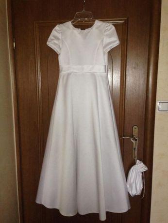 Śliczna sukienka do KOMUNII