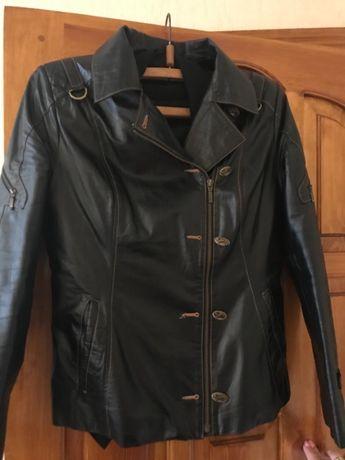 Женская кожаная куртка 3XL