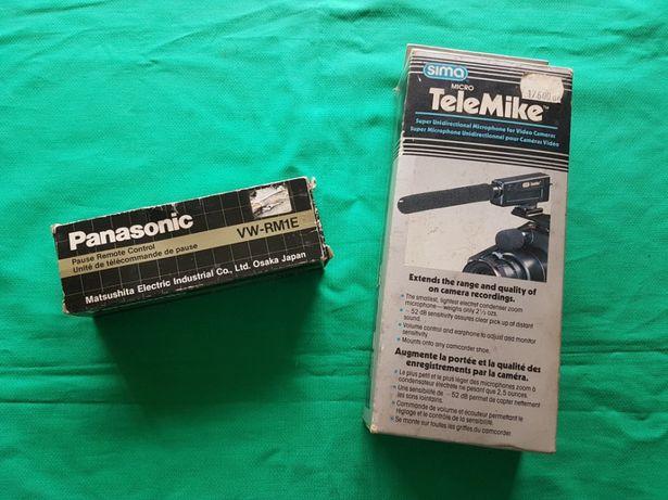 LOTE Vintage para câmera de vídeo- Novo na caixa