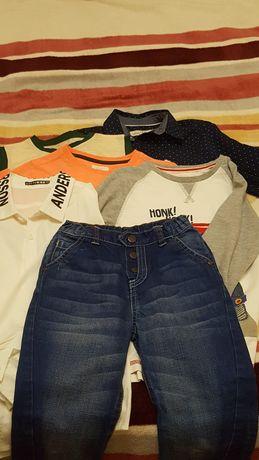 Пакет одежды для мальчика рост 116-122