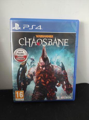 Warhammer Chaos Bane Ps4