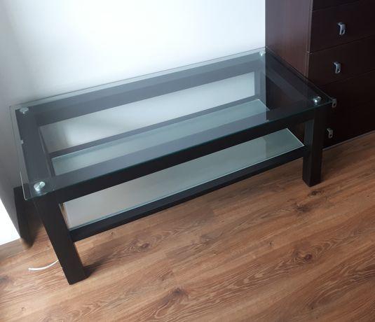 Stół/ stolik/ ława szklana wenge