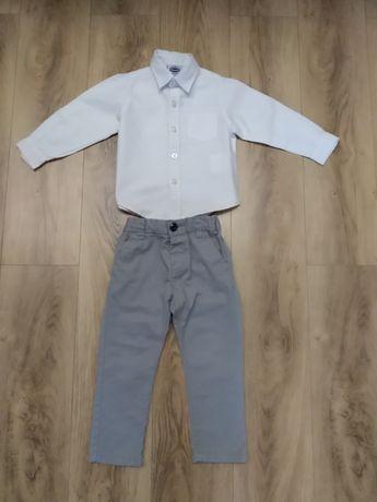 Нарядные брюки и рубашка на рост 86 см