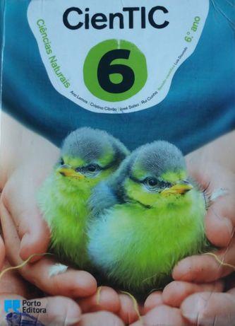 CienTIC 6 - Manual de Ciências Naturais - 6.º Ano