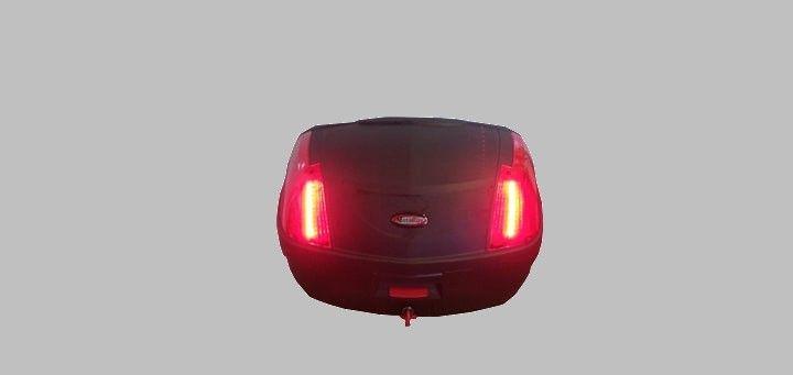 NOWA Kufer Awina DUŻY 48L oświetlenie led - na skuter lub motor