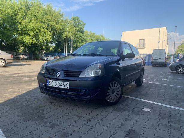 Renault Clio 05 1.4 - KLIMA mały przebieg 143 tys ŻWAWY EKONOMICZNY