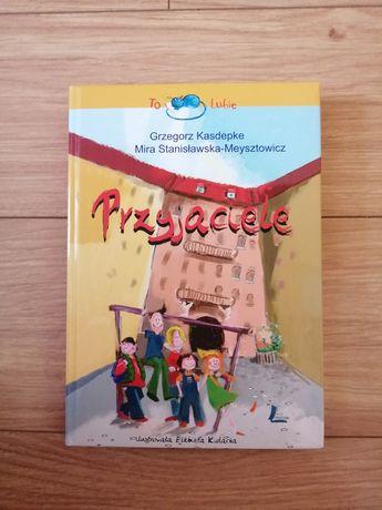 Przyjaciele Grzegorz Kasdepke książka z autografem