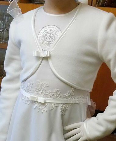 Sukienka,wianek, dodatki do I Komunii Św