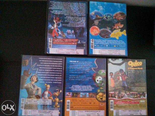 5 DVD histórias infantis