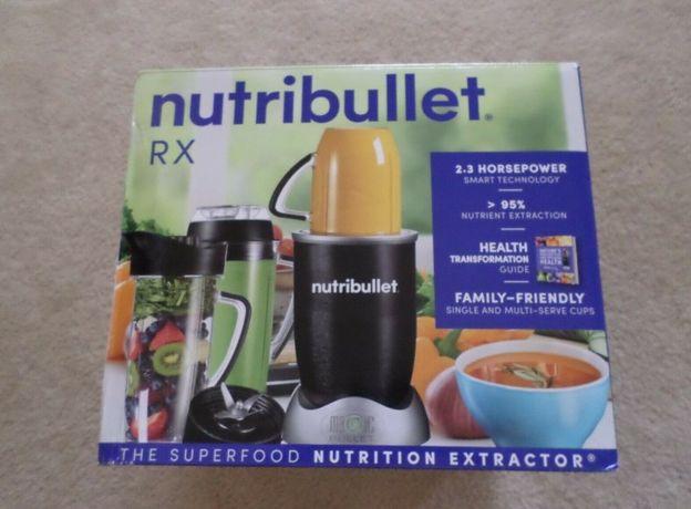 NutriBullet RX 12-предметов. Нутрибуллит 1700 Вт, 40000 об/мин
