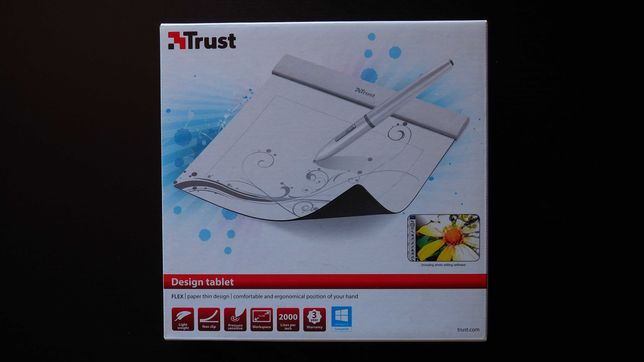 Trust Flex Design Tablet (mesa gráfica)