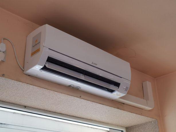 Mitsubishi klimatyzacja 3,4kW z montażem klimatyzacja Pompy ciepła LG