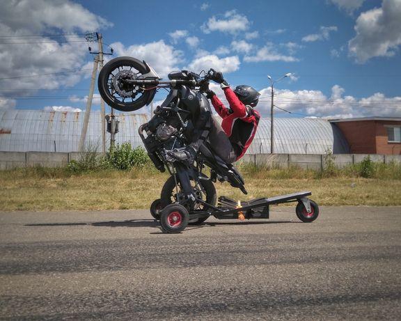 Wheelie, Stunt, вилли паук, обучение езде на заднем колесе, инструктор