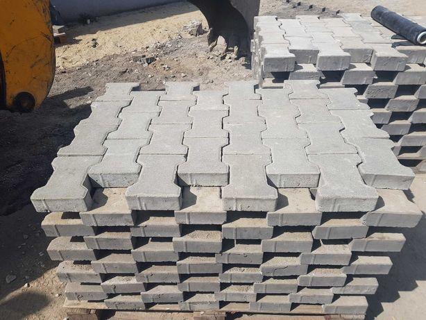 Kostka betonowa brukowa behaton używana z rozbiórki 6 cm / 8 cm