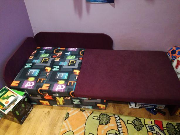 Łóżko rozkładane, narożnik dziecięcy