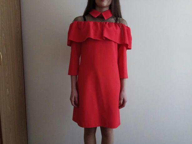 Червоне плаття. Розмір S-M
