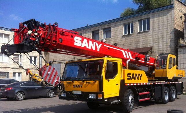Продам автокран Sany 25 тонн стрела 41,5 м