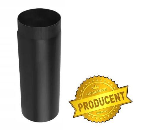 CZARNA rura spalinowa 2mm fi 120 0,5mb PRODUCENT!!!