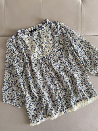 Блуза жіночав квітковий принт