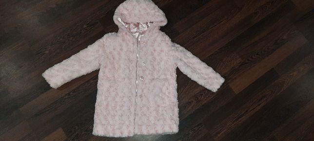 Красивая шубка- пальто для девочки
