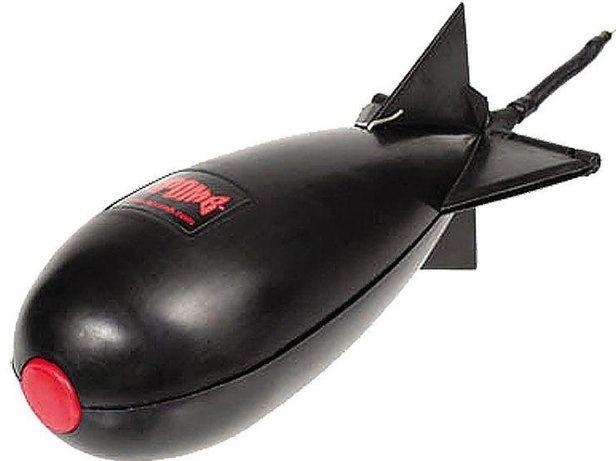 Бомба (ракета, спомб) для прикормки, карповая рыбалка!
