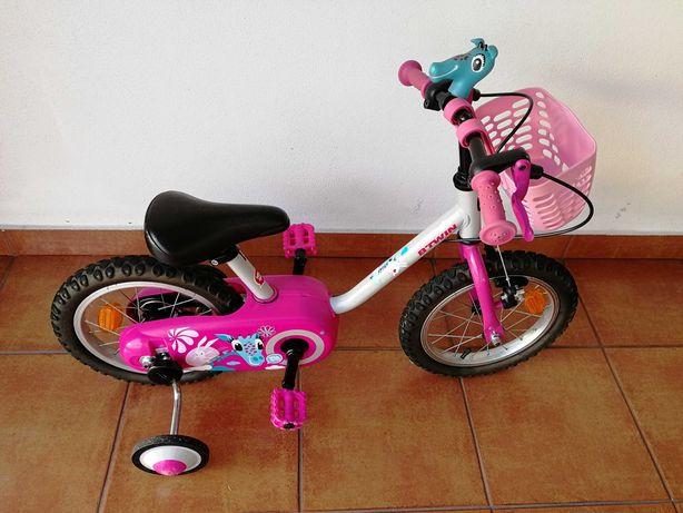 Bicicleta de criança 3-4,5 anos 14 polegadas