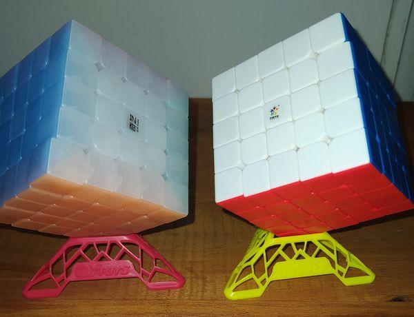 Cubo mágico - 5x5x5 Yuxin e 5x5x5 Qiyi