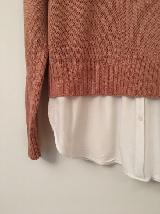 Кофта с имитацией рубашки H&M Львов - изображение 1
