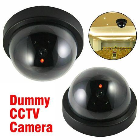 Купольна камера відеоспостереження муляж фейк обманка Security чорна
