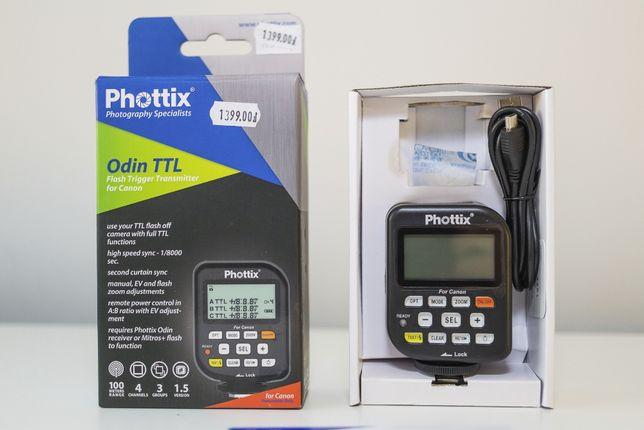 Phottix Odin TTL do Canon